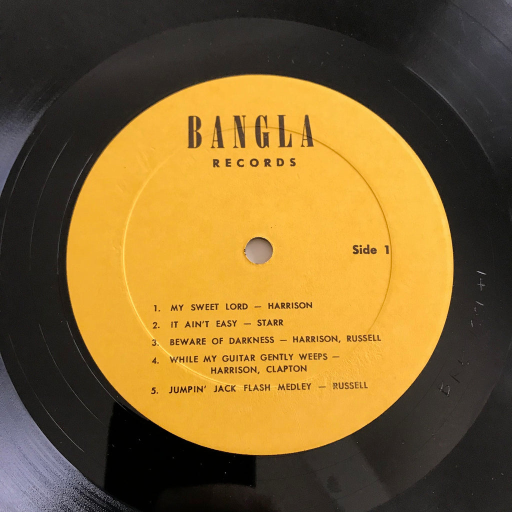 George Harrison - Bangla Desh (LP, Album)