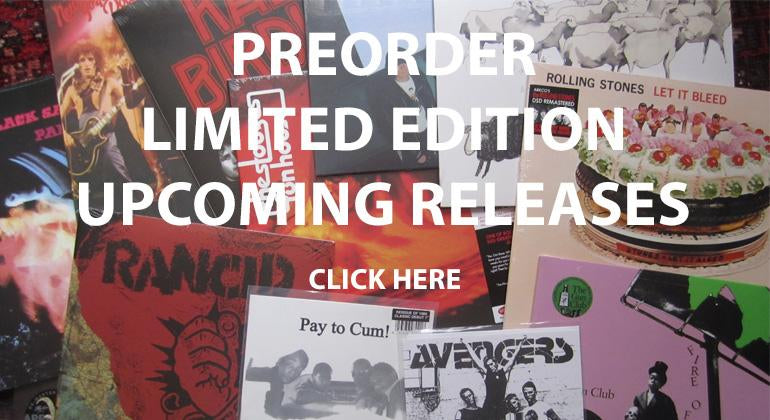 Preorder the latest vinyl releases