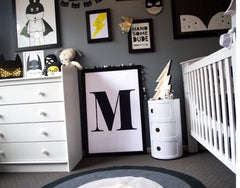 Batman - superhero Baby boy nursery room tour