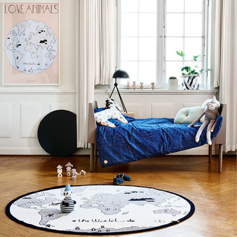 The World Map Rug - Minimacko