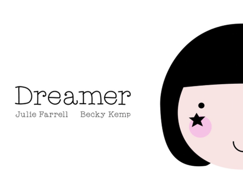 """Dreamer"" Birdie book by Julie Farrell and Becky Kemp"