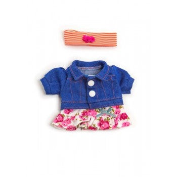 Miniland Clothing Spring flower set (21 cm Doll)