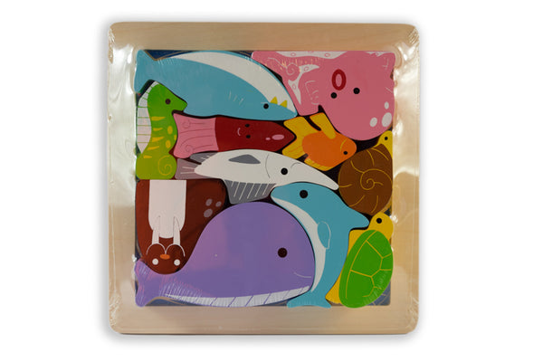 Kiddie Connect - Chunky Sea Creatures Puzzle
