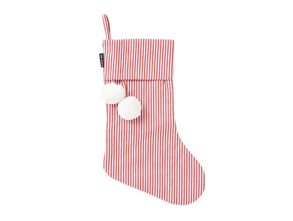 Christmas Stocking - Sack Me - Christmas Stocking - Red Pinstripe