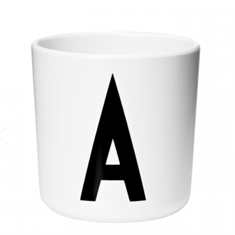DESIGN LETTERS - MELAMINE CUP
