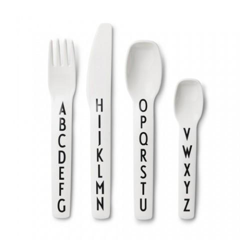 Cutlery - DESIGN LETTERS - MELAMINE CUTLERY (SET OF 4)