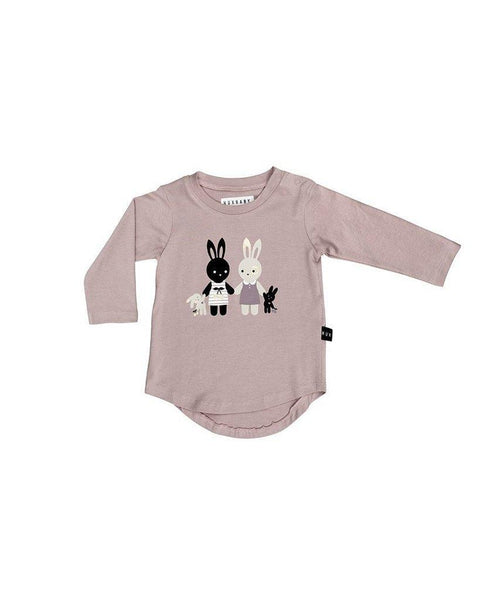 Long Sleeve T'Shirt - Huxbaby - Bunny Long Sleeve Top