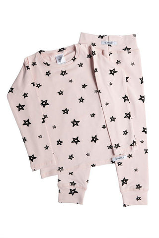 "Pajamas - G.Nancy - Rose ""Star"" Long PJ Set"