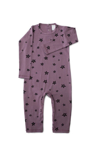 "Pajamas - G.Nancy - Stars ""Jelly"" Long Sleeve Romper"