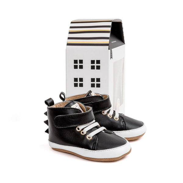 Shoes - Pretty Brave - Hi-Top Black Dragon
