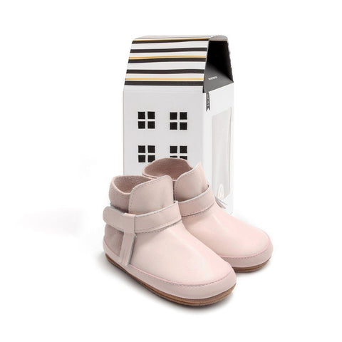 Shoes - Pretty Brave - Snow Boot Dusky Pink
