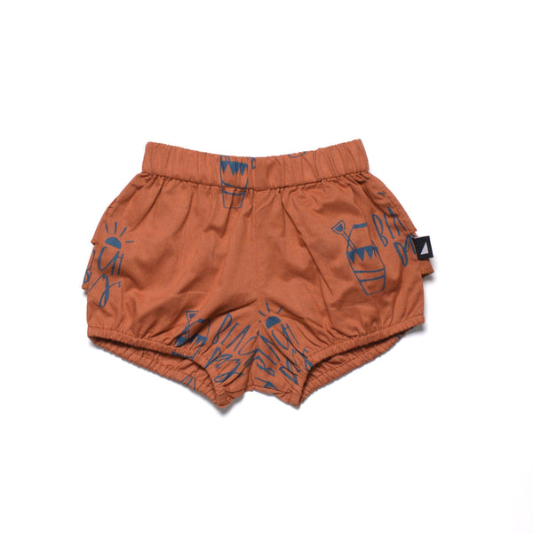 Shorts - Anarkid - Beach Day Woven Bloomers - Rust