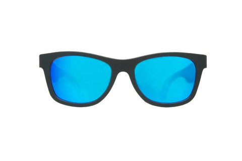 Sunglasses - Babiators - Aces - Black Op Navigators With Blue Lenses