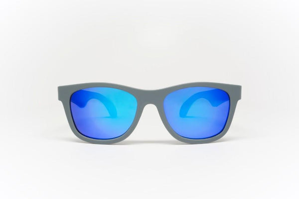 Sunglasses - Babiators - Aces - Galatic Grey Navigators With Blue Lenses