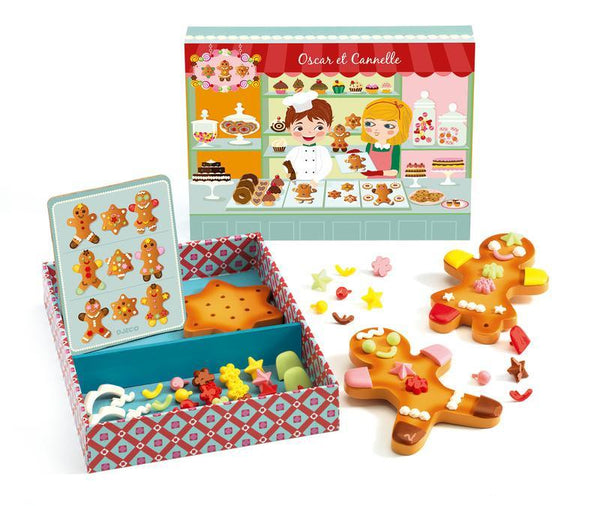 Wooden Toys - Djeco - Gingerbread Man Set
