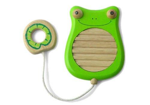 Wooden Toys - I'm Toy - Scratchy Frog - Music Toy