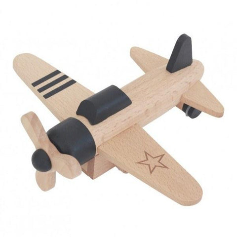 Wooden Toys - KIKO+ BY KUKKIA - HIKOKI PROPELLER - BLACK