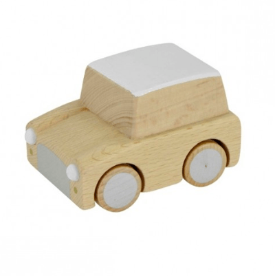 Wooden Toys - KIKO+ BY KUKKIA - KURUMA WOODEN CAR - NATURAL