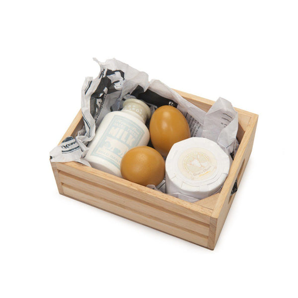 Wooden Toys - LE TOY VAN - DAIRY BASKET