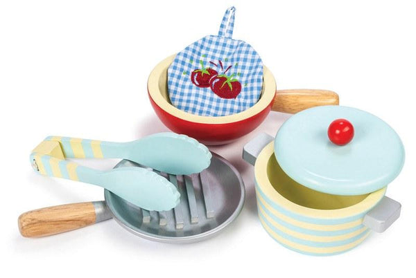 Wooden Toys - LE TOY VAN - HONEYBAKE POTS AND PANS