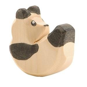 Wooden Toys - OSTHEIMER - PANDA BEAR - SMALL SITTING