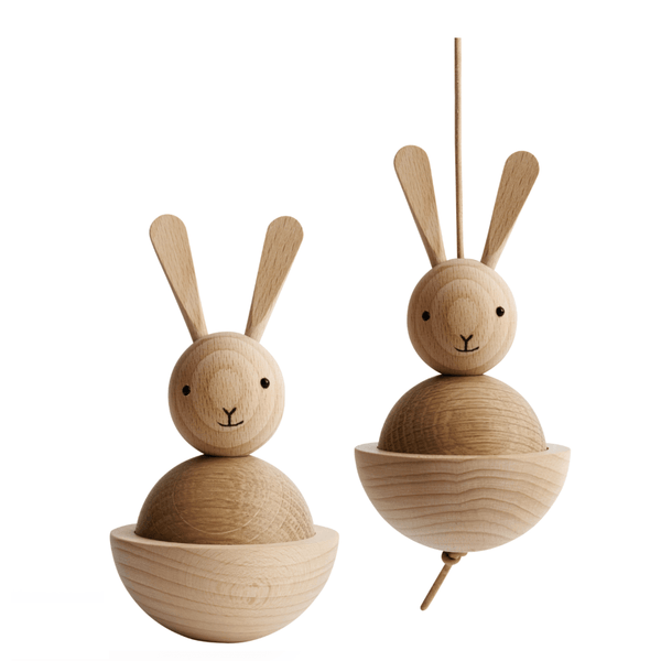 Wooden Toys - OYOY: WOODEN RABBIT