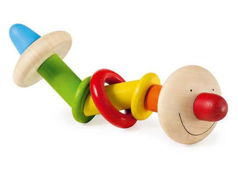 Wooden Toys - SELECTA - GIRALI WOODEN GRASPING TOY