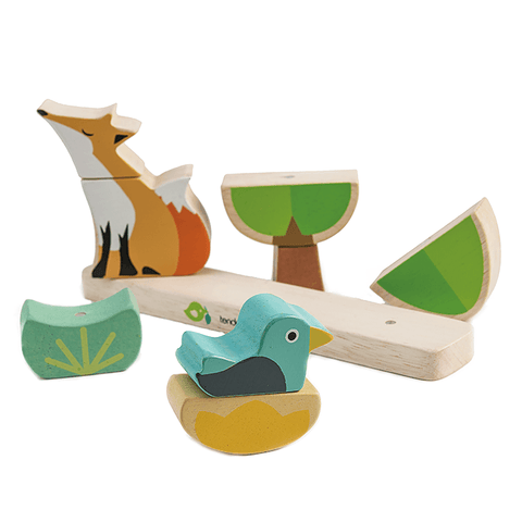 Wooden Toys - Tender Leaf Toys - Foxy Magnetic Puzzle