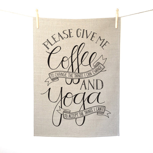 Coffee and Yoga