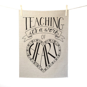 Teaching... it's a work of heart