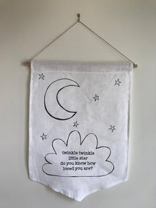 Twinkle Twinkle Little Star Wall Hanging