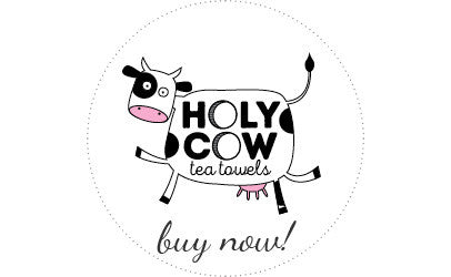 Holy Cow Tea Towels
