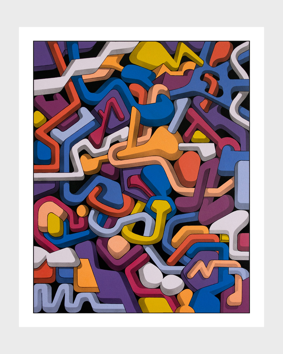 "Andrew Tavukciyan ""Abstraction 025"" Print (Edition of 40)"