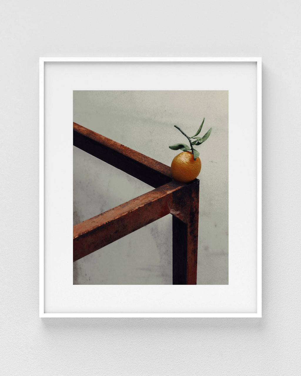 "Marley Hutchinson ""Orange on Metal"" Print (Edition of 40)"