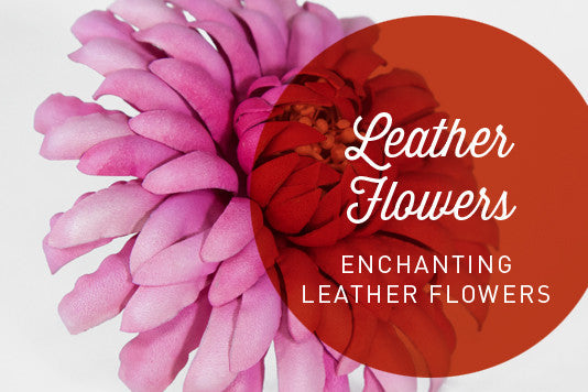 D14 ENCHANTING LEATHER FLOWERS by Cherryl McIntyre | Hat Academy