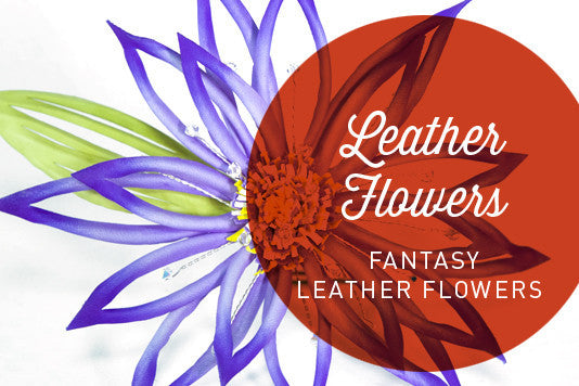 D13 - Fantasy Leather Flowers by Cherryl McIntyre | Hat Academy