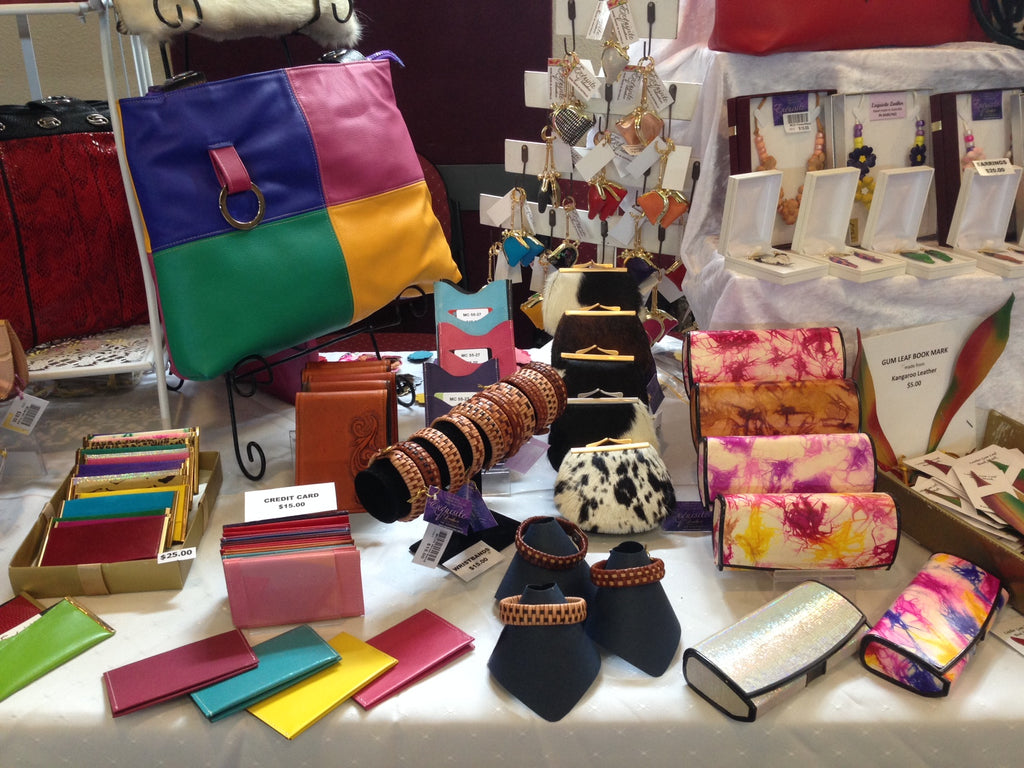 Exquisite Leather at Brisbane Artisan Markets