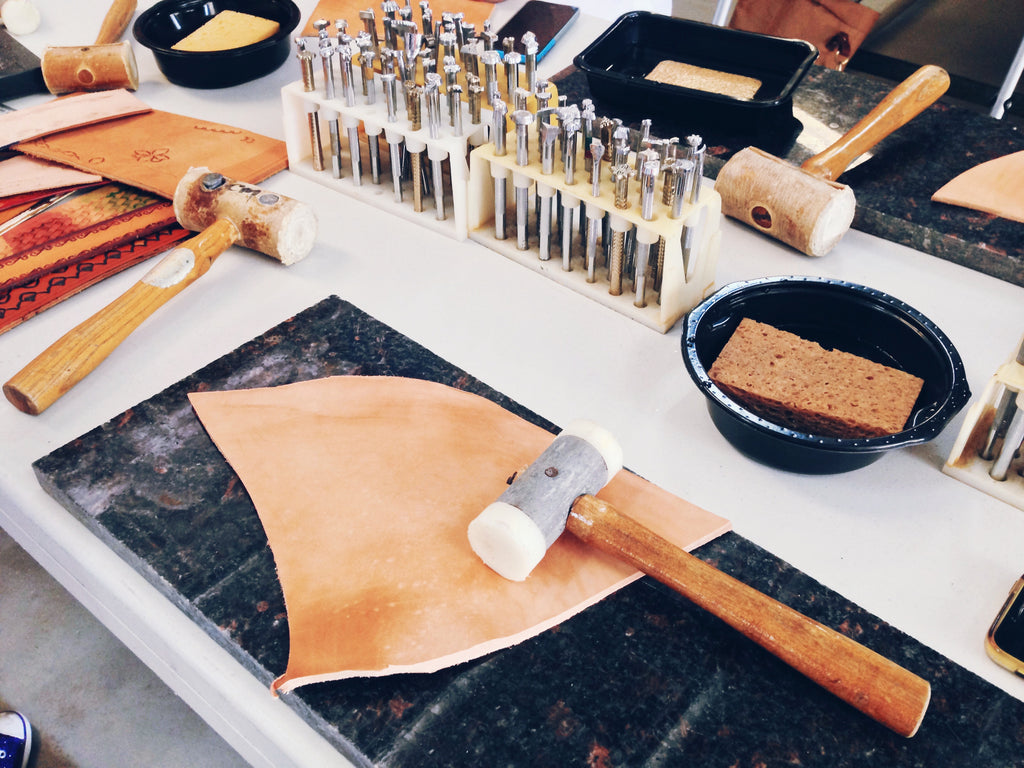Leather Craft Workshops with Cherryl McIntyre
