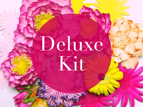 Deluxe Course Kit - Leather Flowers Tools & Materials