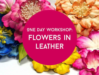 Leather Flowers with Cherryl McIntyre