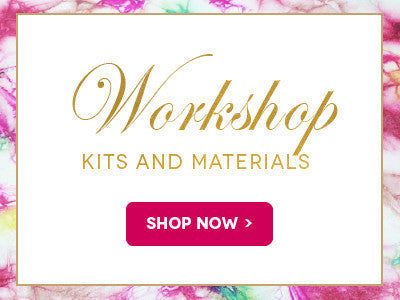 Purchase all your materials for Cherryl's Leather Flowers online courses