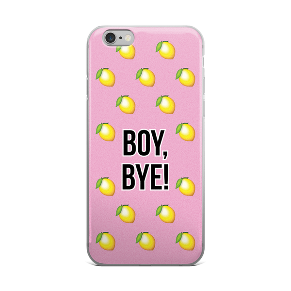 Boy, Bye! iPhone Case