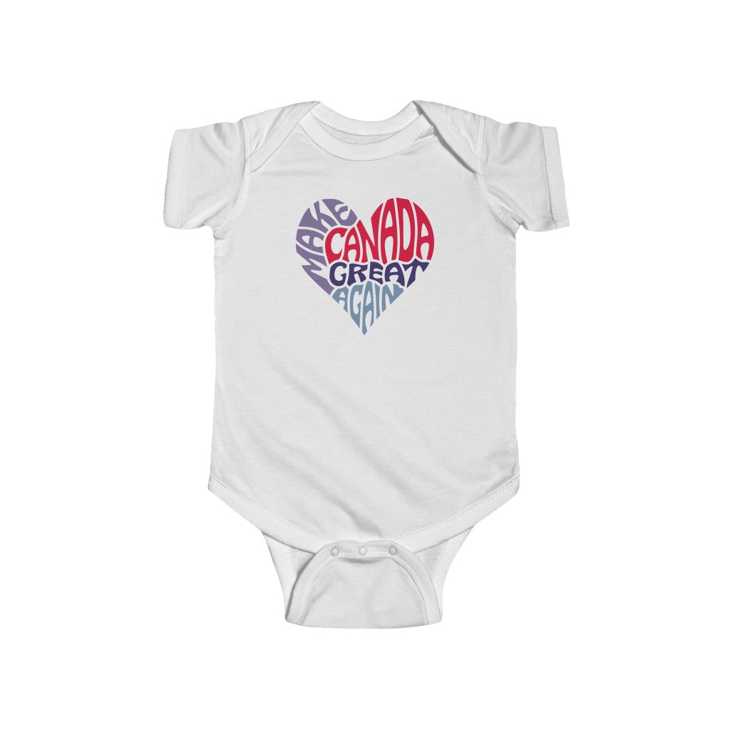 Make Canada Great Again 4 - Infant Jersey Bodysuit