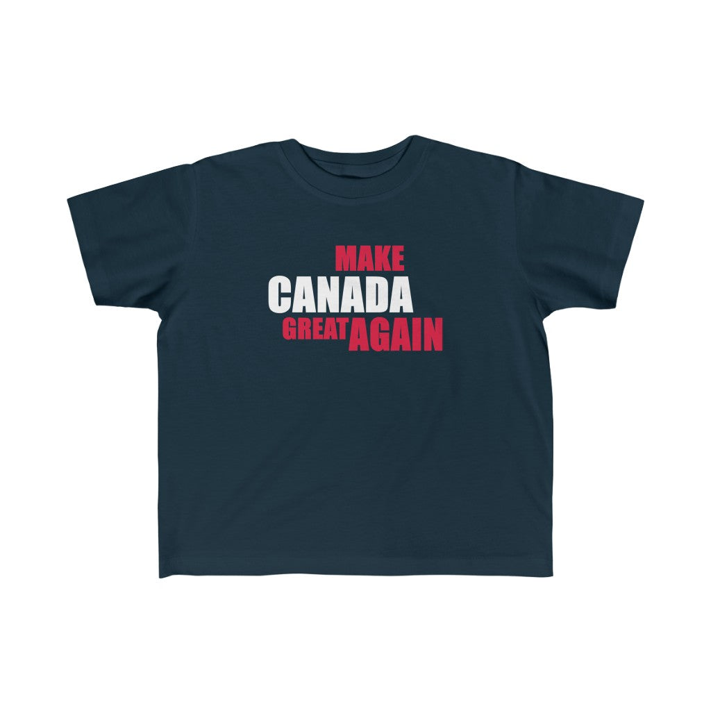 Make Canada Great Again 3 - Kid's Jersey Tee