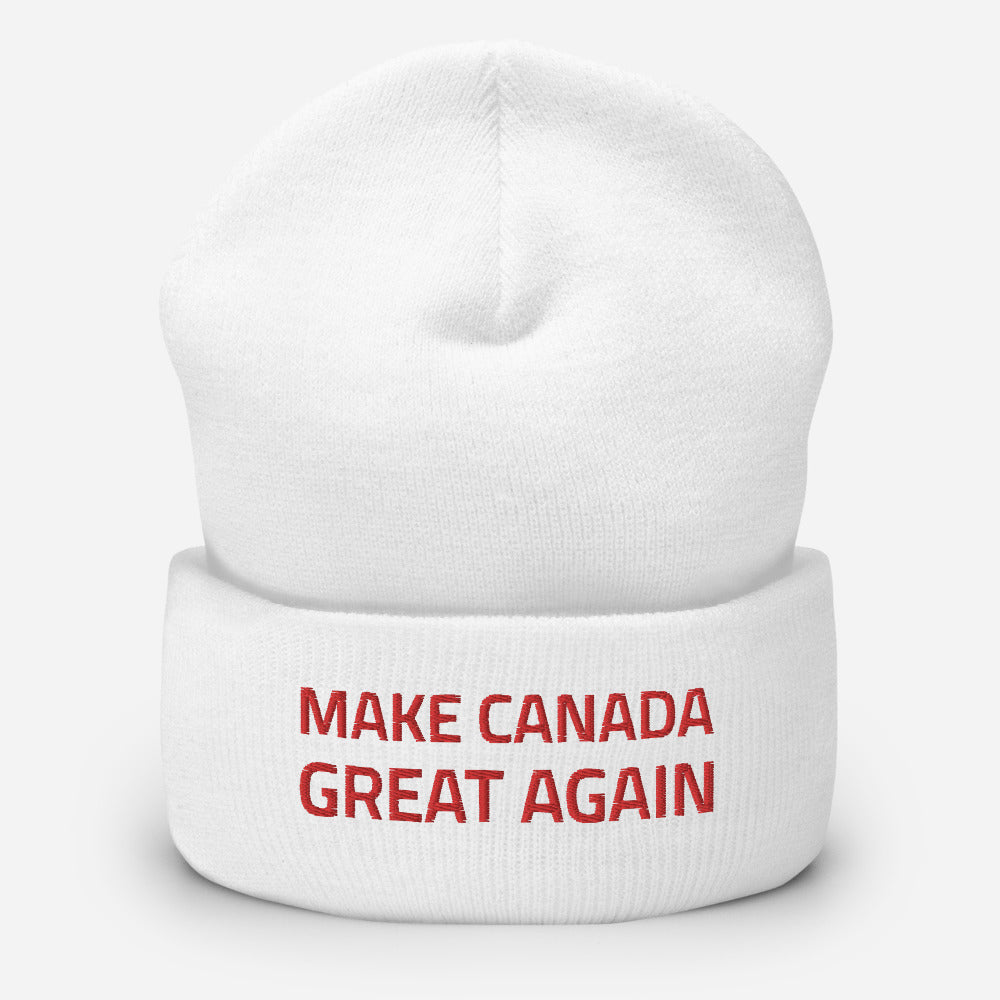 Make Canada Great Again 10 - Cuffed Tuque/Beanie