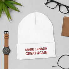 Load image into Gallery viewer, Make Canada Great Again 10 - Cuffed Tuque/Beanie