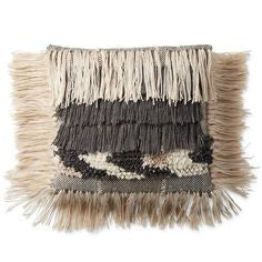 fringe outdoor pillow