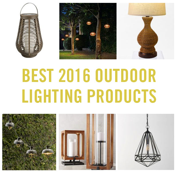 Top 10 outdoor lighting products for 2016
