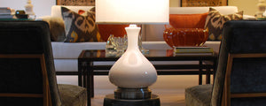 indoor battery operated table lamp