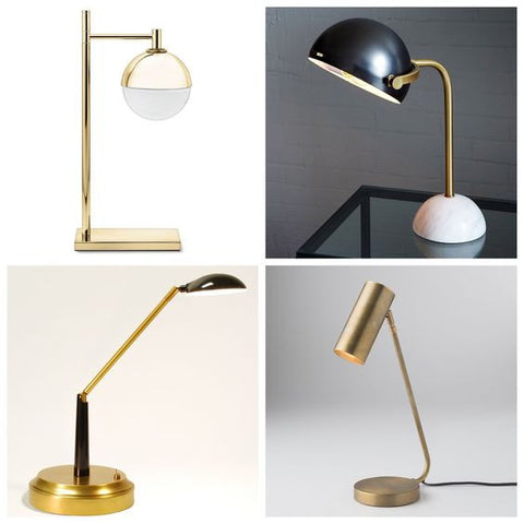 Collage of task lamps desk lamps cordless lamp